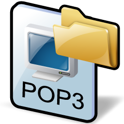how to create email folders from pop3