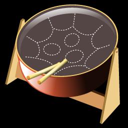 steel drum icon